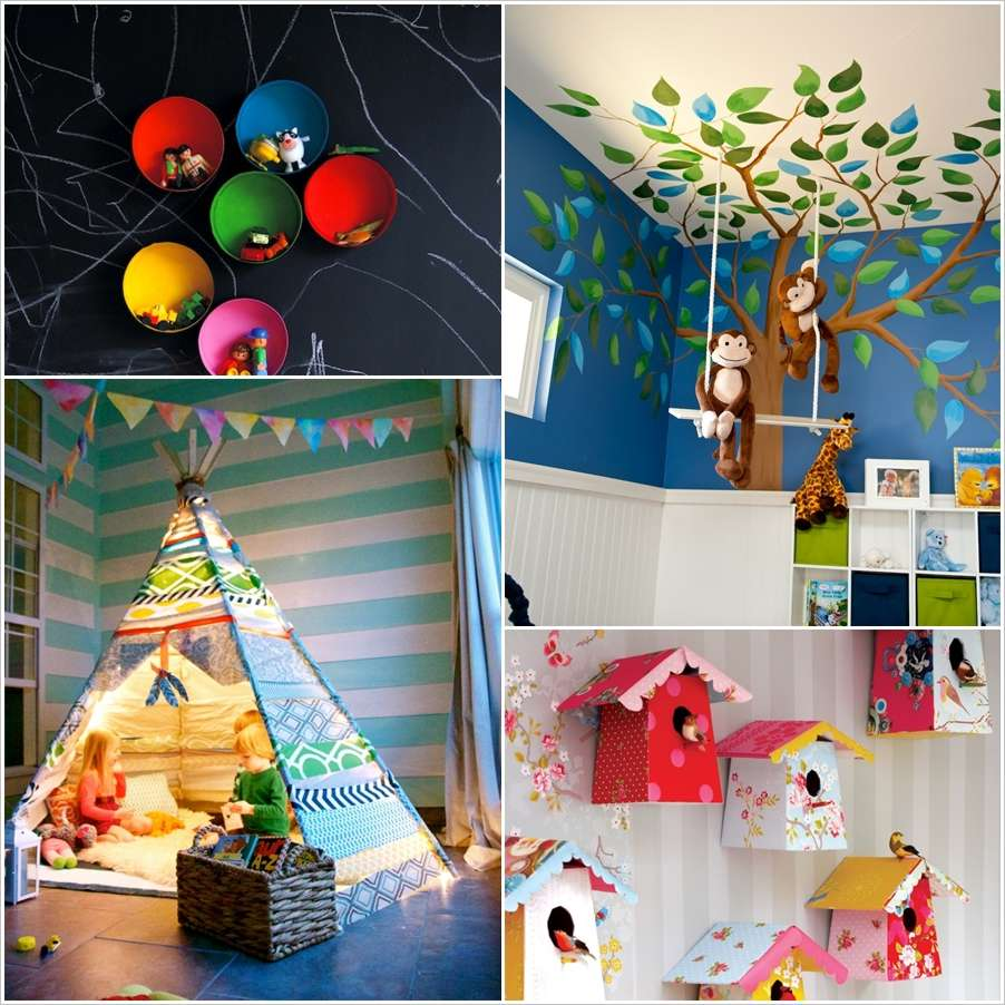 9 Fun Projects to Make For Your Kids Room