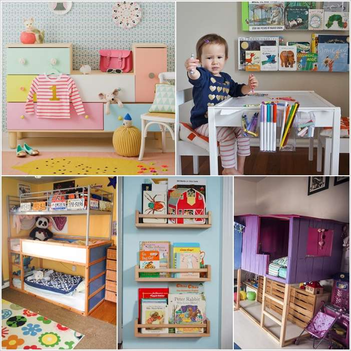 10 Ingenious IKEA Furniture Hacks For Your Kids Room