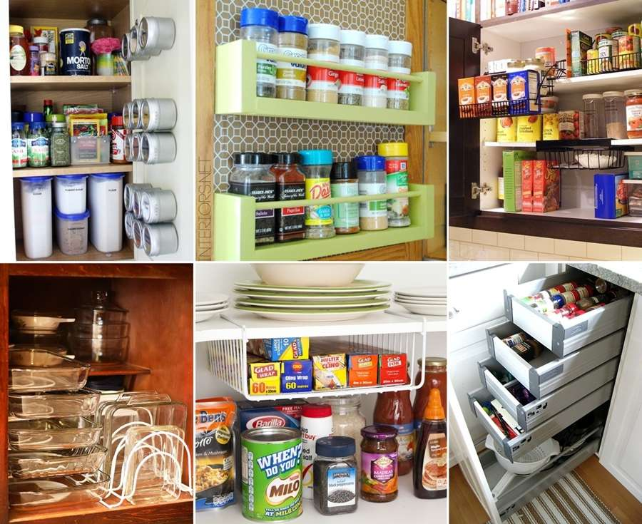 inside kitchen cabinets ideas 10 clever ideas to organize inside your kitchen cabinets 17872