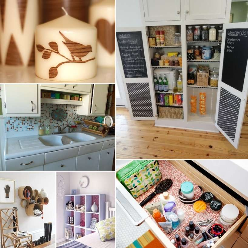 28 Awesome Ideas To Decorate With Contact Paper