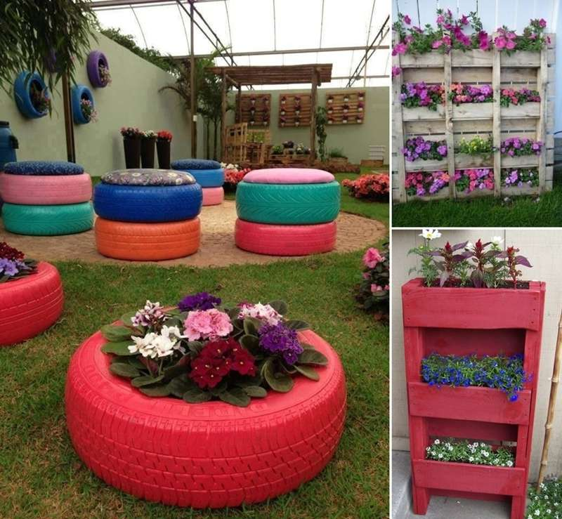 15 Creative Garden Ideas You Can Steal: 15 Creative Recycled Planter Ideas For Your Garden