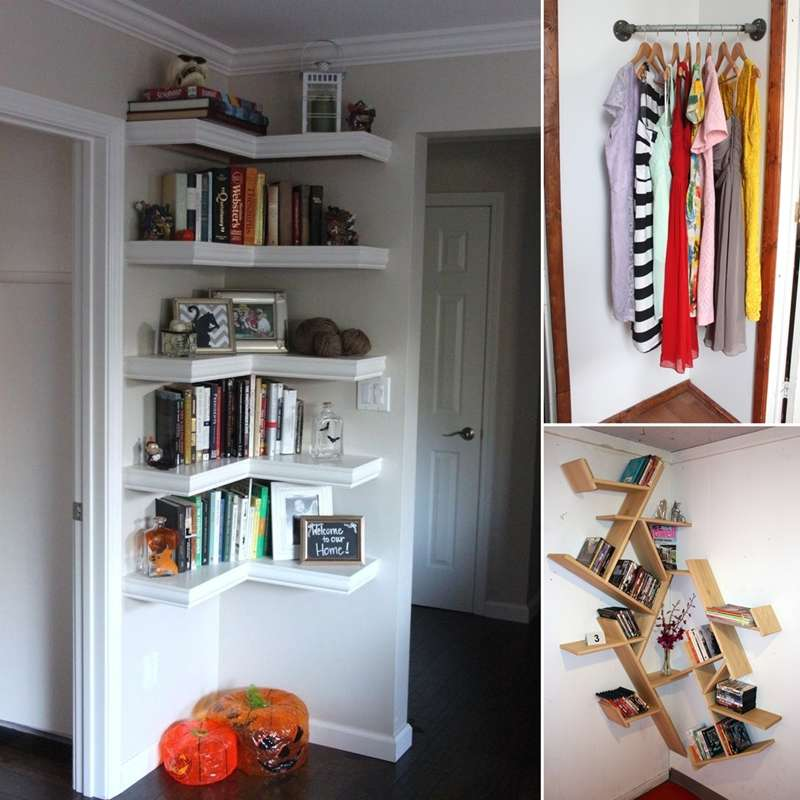 10 Ideas To Decorate And Utilize Empty Corners In Your Home