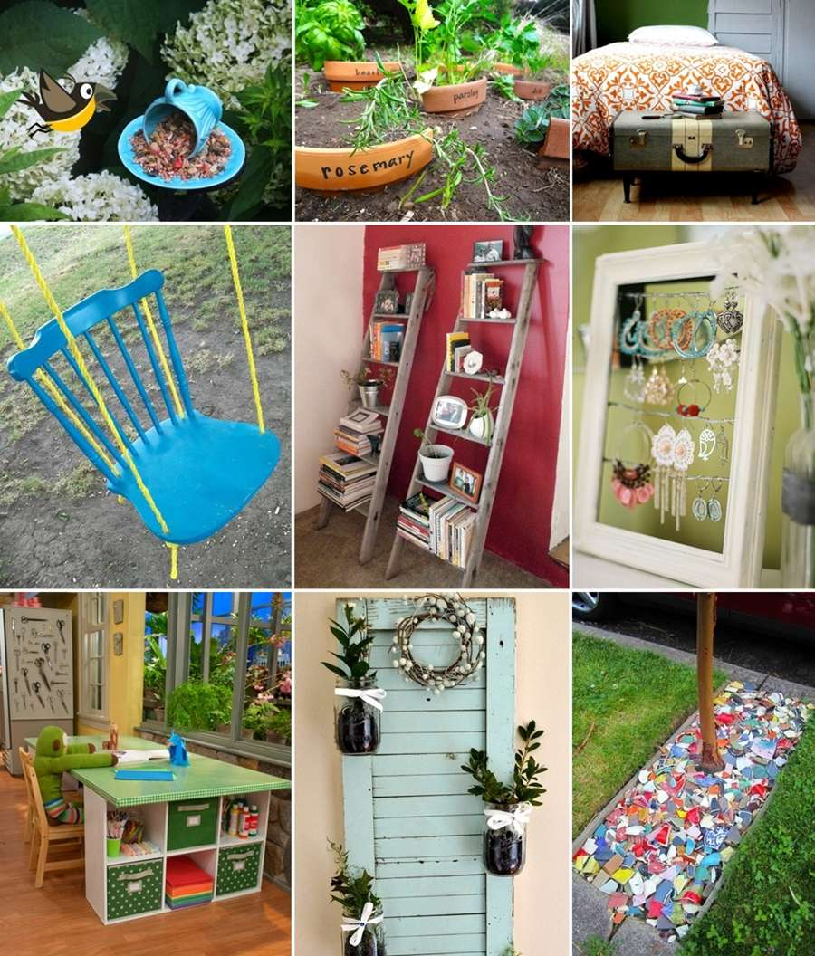 100 Ingenious Ideas to Recycle Broken Household Items