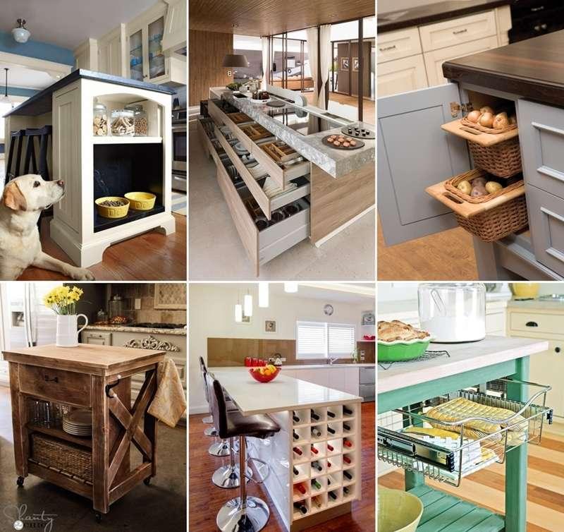 15 clever kitchen island hacks to make it more functional for Kitchen design hacks