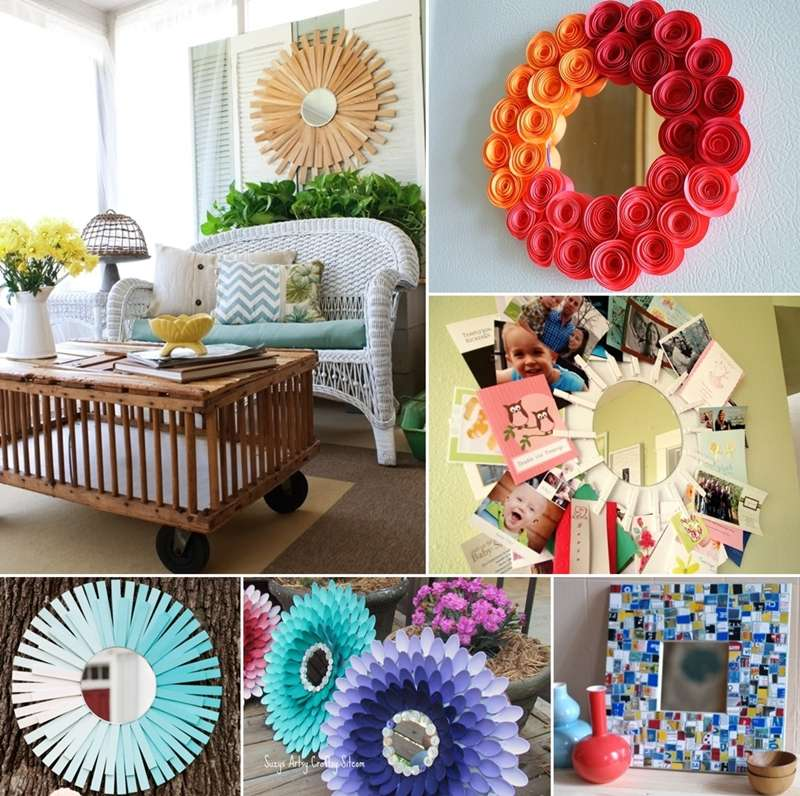 Top 100 Best Home Decorating Ideas And Projects: 50 Top DIY Mirror Projects For Your Home