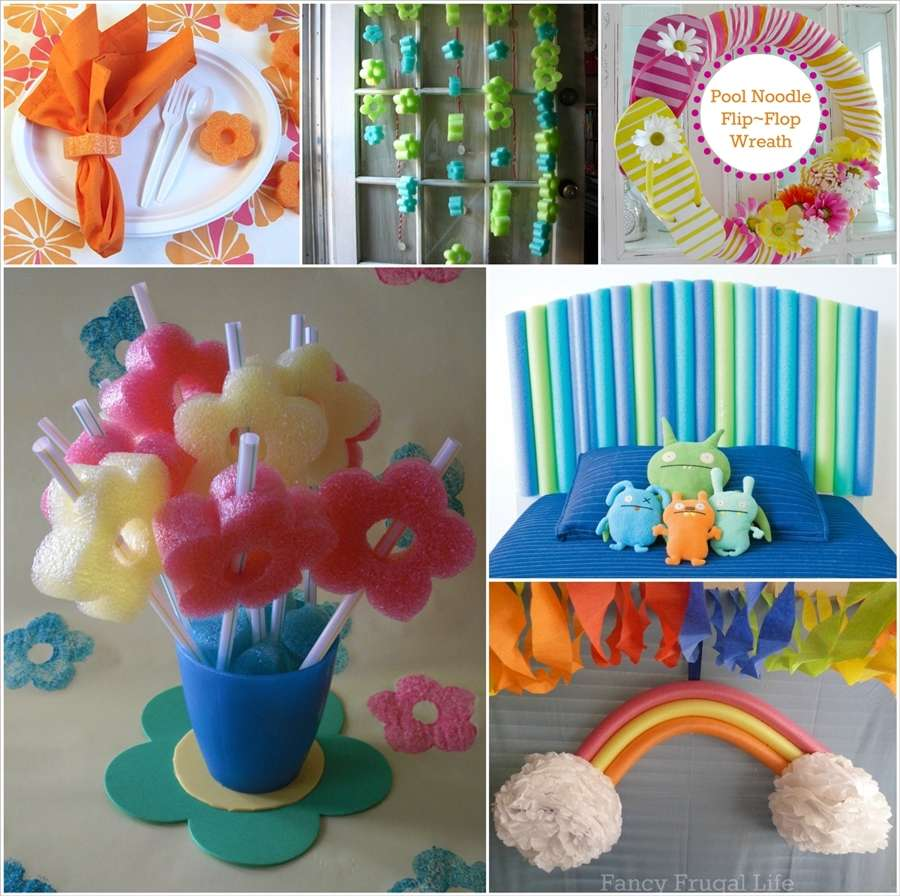 50 fun and cool things to make with pool noodles for Cool things to make and do