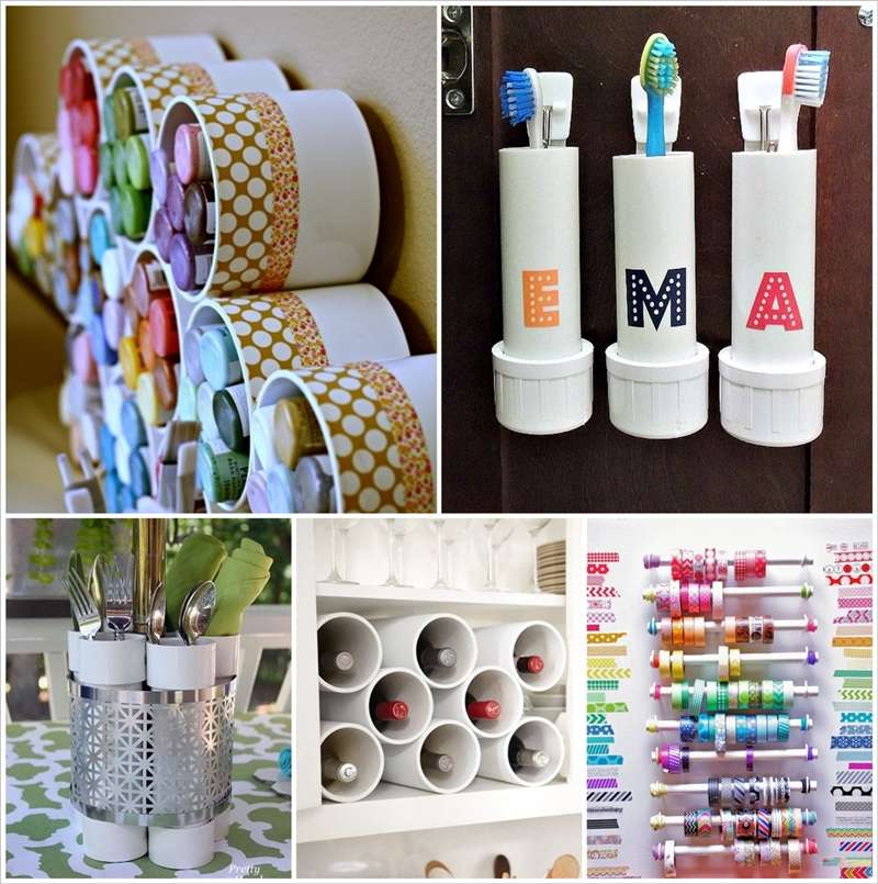 15 awesome pvc pipe projects for your home for Diy pvc projects