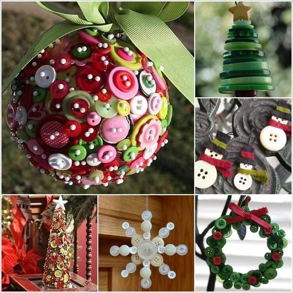 15 Creative Button Crafts To Make This Christmas