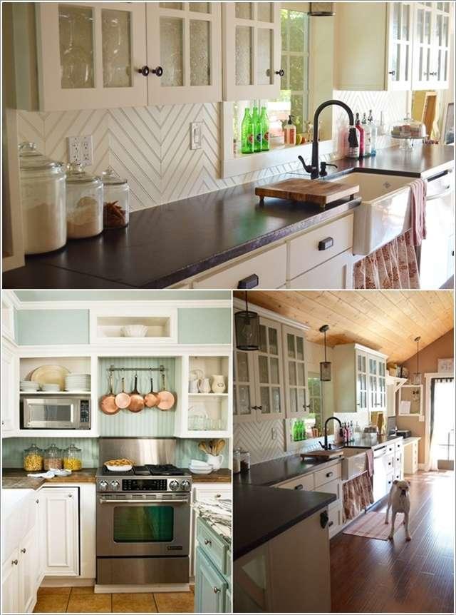 30 Amazing Design Ideas For A Kitchen Backsplash: 10 Amazing DIY Backsplash Ideas For Your Kitchen