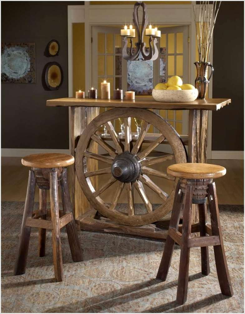 Wagon Wheel Wall Decor 10 amazing ideas to decorate your home with wagon wheels