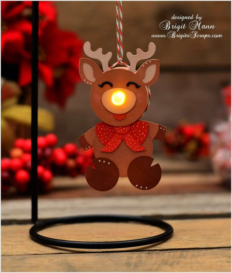 13 Lighted Christmas Decorations That You Can Make Yourself