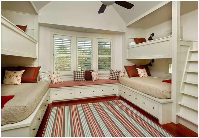 10 fabulous ideas to design a room for four kids for 4 bunk beds in a room