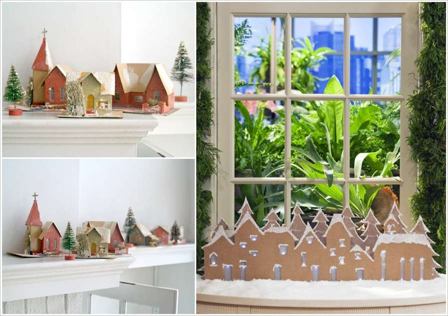 15 Awesome Cardboard Christmas Craft and Decoration Ideas