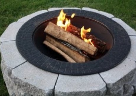 DIY Better Homes and Gardens Fire Pit