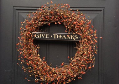 Fall Give Thanks Wreath