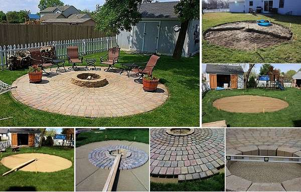 Fire Pit & Patio Project