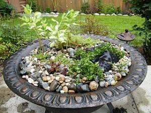 Fire Pit Planter