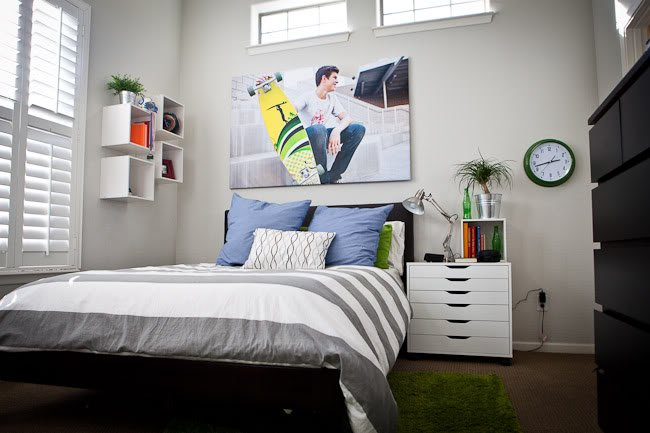 15 creative and cool teen boy bedroom ideas. Black Bedroom Furniture Sets. Home Design Ideas
