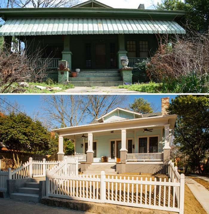 Old Unappealing Home into Modern House