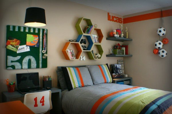 15 creative and cool teen boy bedroom ideas for Cool teen boy bedrooms