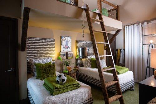 Urban  Teen Bedroom