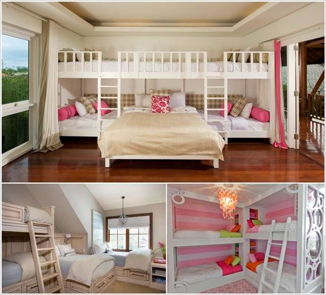10 Fabulous Ideas to Design a Room for Four Kids