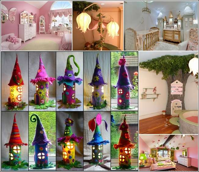 10 Whimsical Fairy Tale Inspired Girls Room Decor Ideas