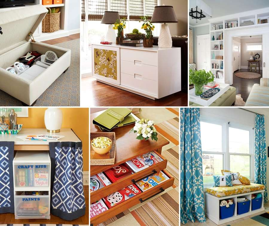 10 ideas to use living room furniture for storage purpose for Purpose of a living room