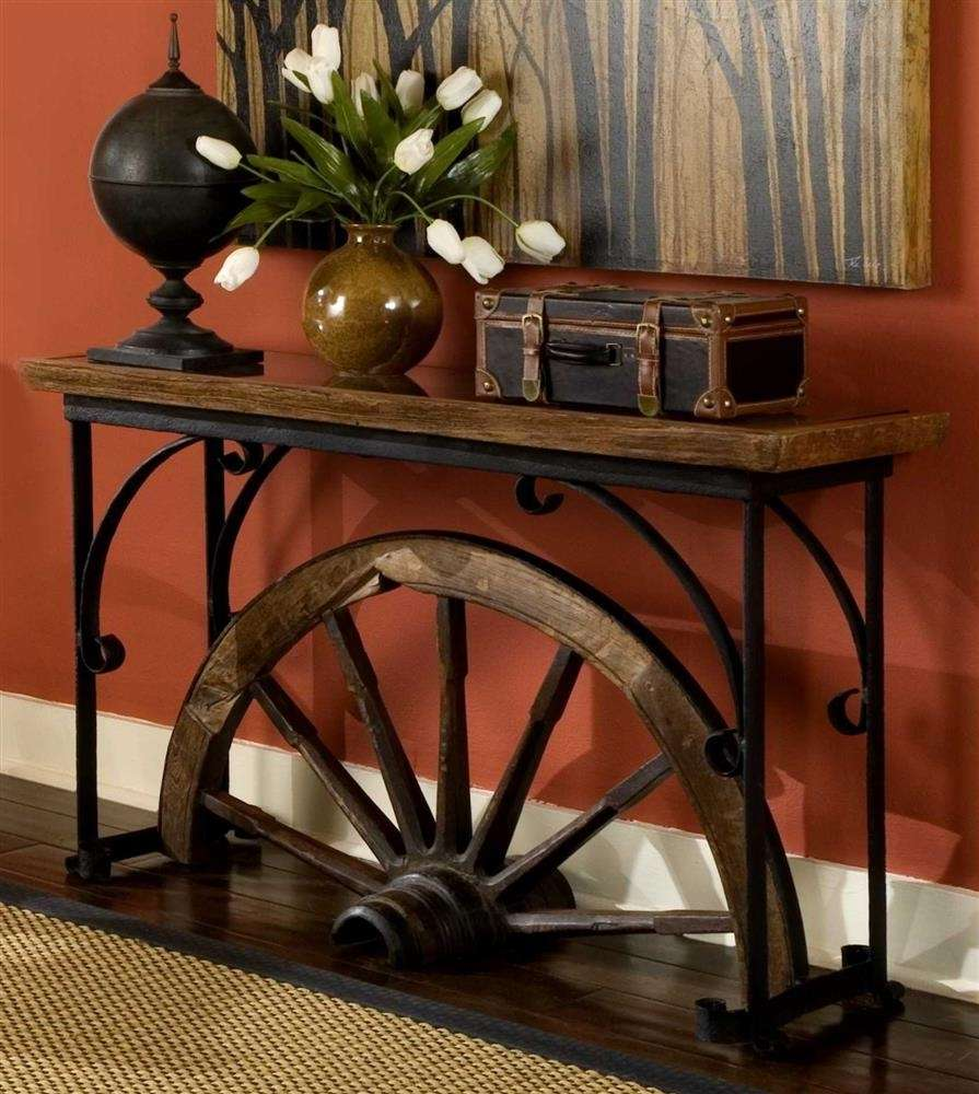 Western Ideas For Home Decorating: 10 Amazing Ideas To Decorate Your Home With Wagon Wheels