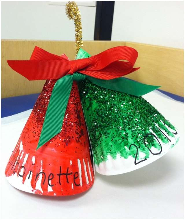 13 Awesome Paper Plate Christmas Decoration Craft Ideas