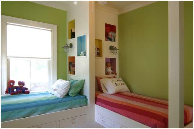 10 amazing ideas to design a boy and girl shared room for Bedroom ideas for girls sharing a room
