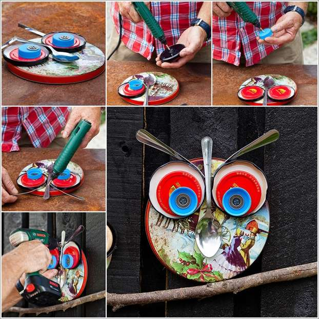 10 diy garden creature ideas made from recycled materials for Diy crafts from recycled materials