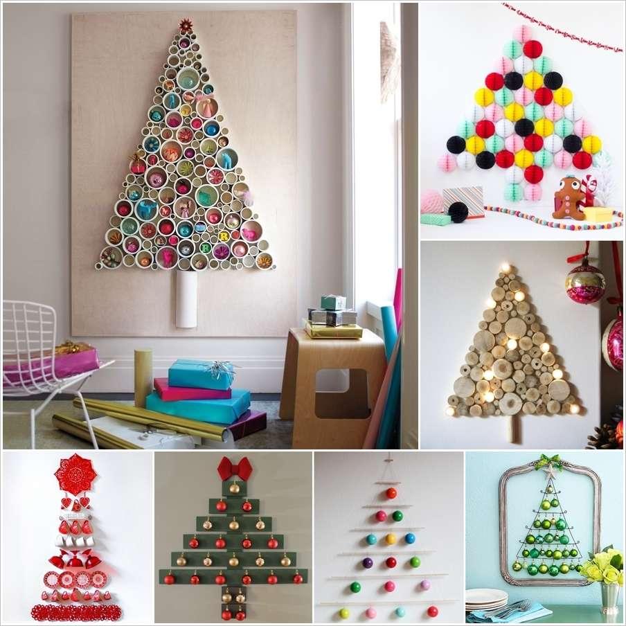 14 Wall Christmas Trees To Craft This Holiday Season