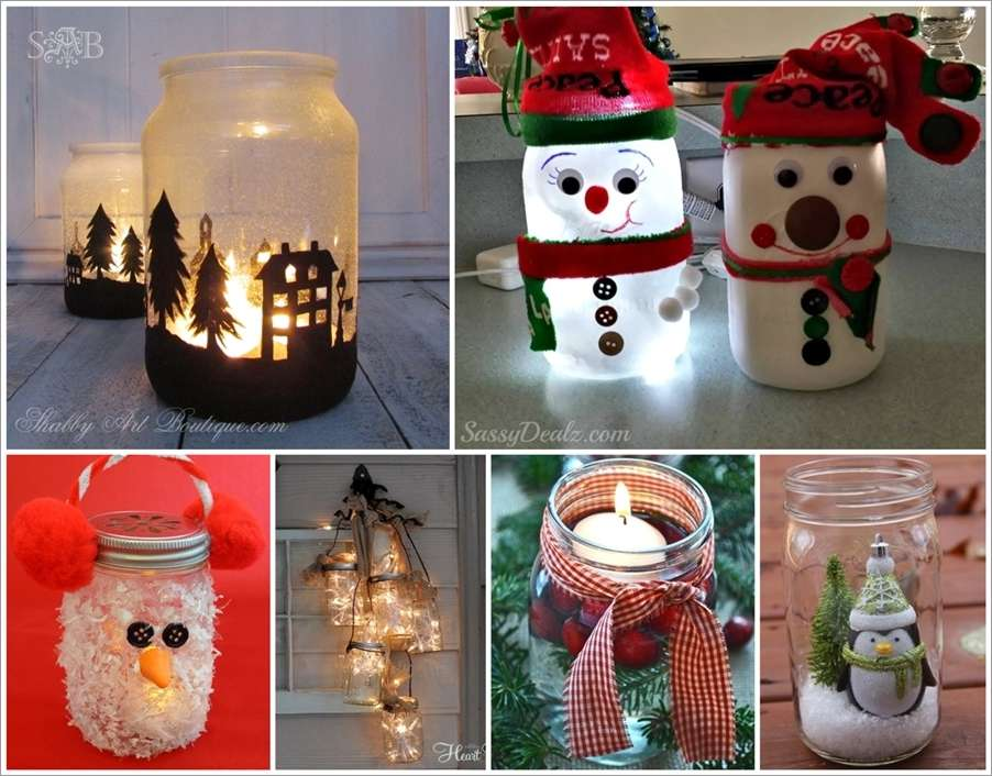 12 Marvelous Mason Jar Christmas Crafts To Make