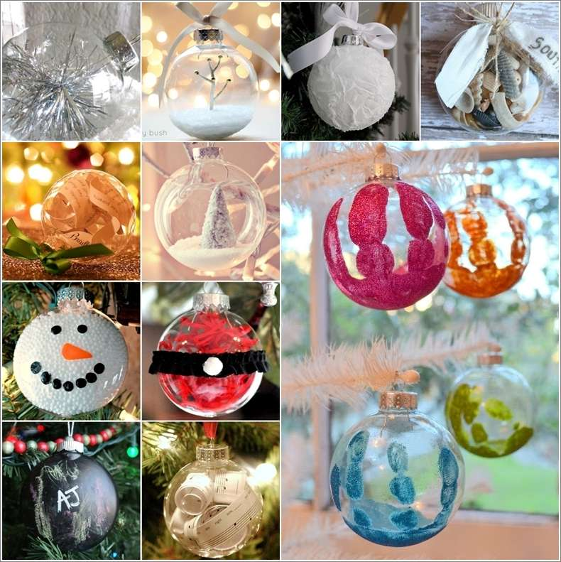 Beautiful Clear Christmas Ornament Ideas Part - 2: Amazing Interior Design