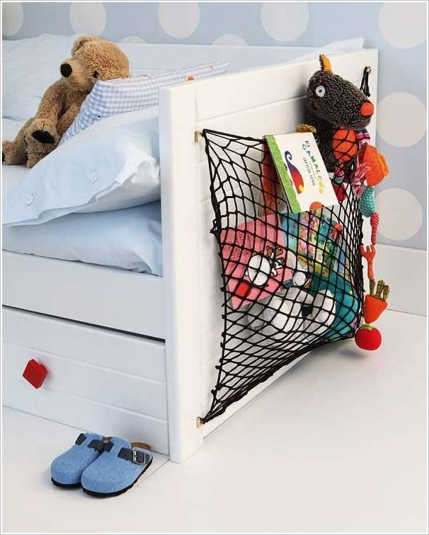 15 cute stuffed toy storage ideas for your kids 39 room. Black Bedroom Furniture Sets. Home Design Ideas
