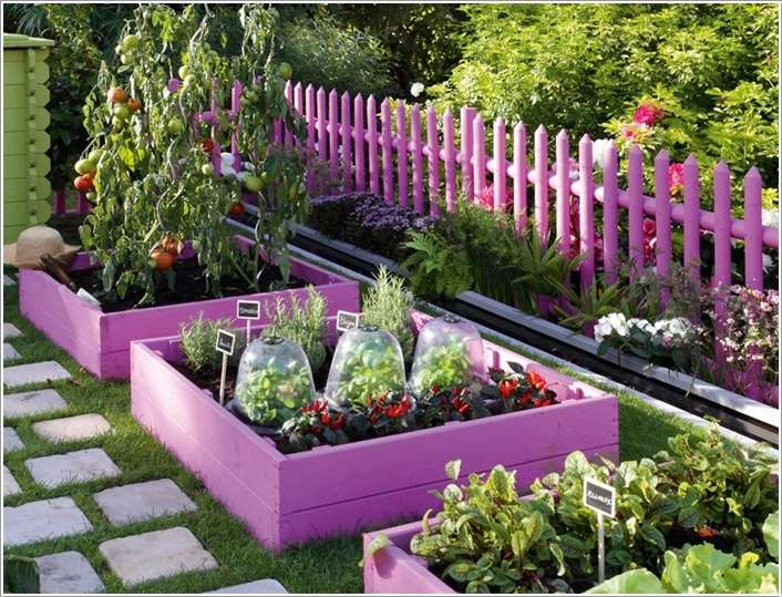 10 Amazing Garden Bed Edging Ideas For Your Home