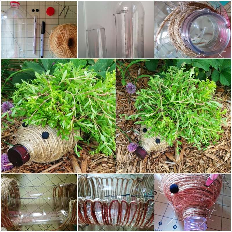 10 diy garden creature ideas made from recycled materials for Recycled materials ideas