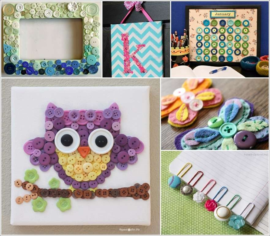 10 cute diy button projects for your kids