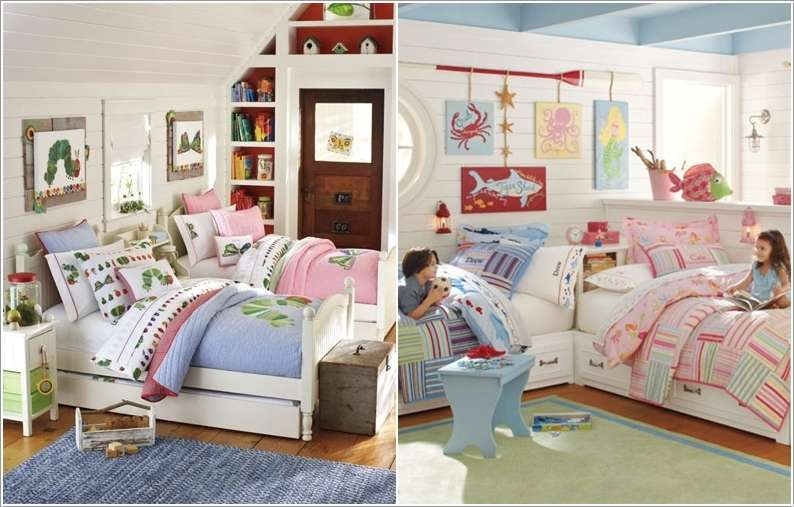 10 Amazing Ideas To Design A Boy And Girl Shared Room