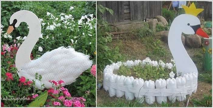 10 diy garden creature ideas made from recycled materials for Recycling ideas for your garden
