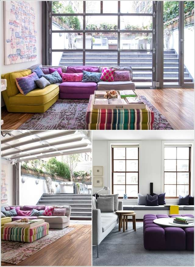 10 Awesome Ideas to Add Extra Seating to Your Living Room