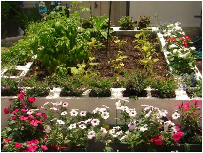 Landscaping Cinder Blocks : Amazing garden bed edging ideas for your home