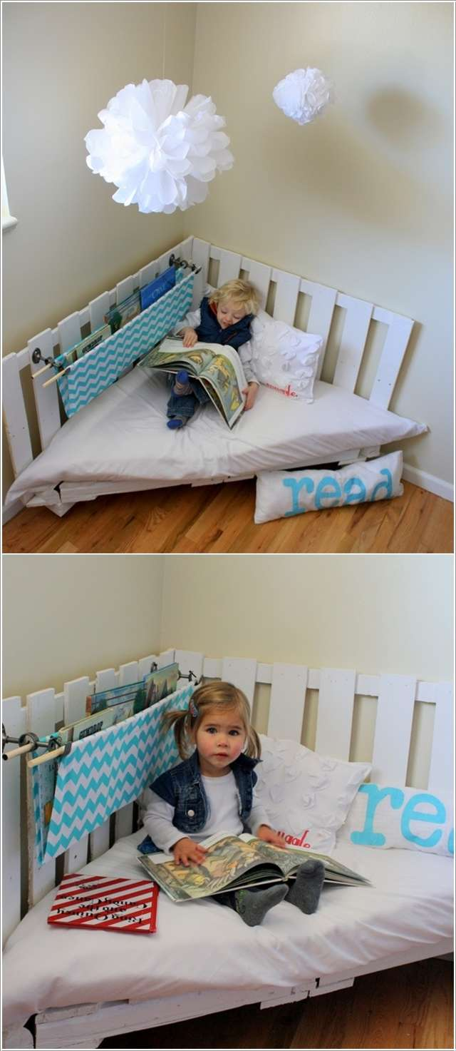 15 Fabulous Pallet Projects For Your Kids Room
