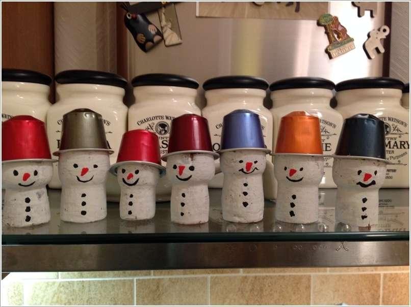 10 creative nespresso coffee pod christmas craft ideas. Black Bedroom Furniture Sets. Home Design Ideas