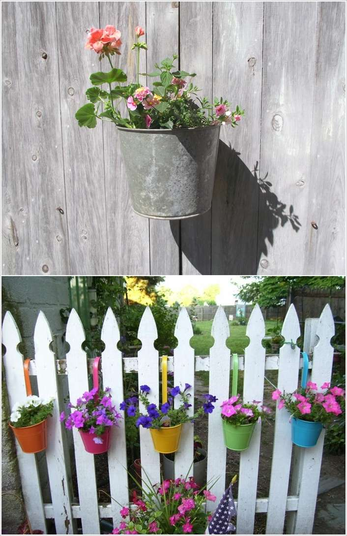 10 Fantastic Fence Planter Ideas For Your Garden