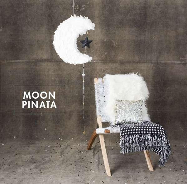 Moon Shaped Pinata