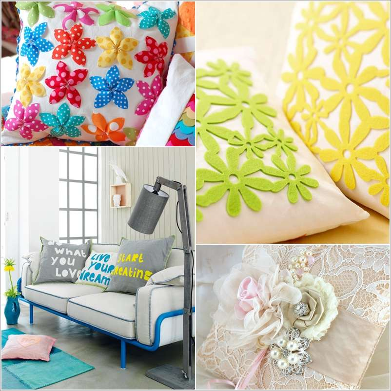 15 amazing diy pillow ideas for your home - Pillow Design Ideas
