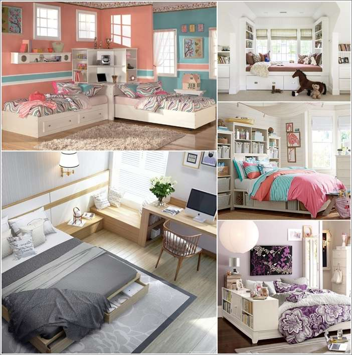 40 Amazing Space Saving Ideas For Teens Bedroom Cool Bedroom Space Saving Ideas