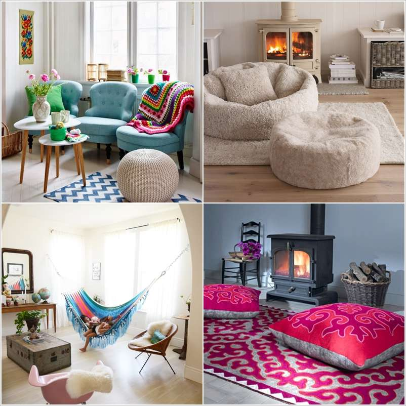 10 Fantastic Living Room Sofa Alternatives on small living room decorating ideas